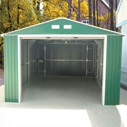 12 x 20 Duramax Metal Utility Building-Green